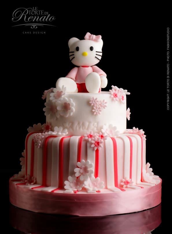 Hallo Kitty Birthday Cake