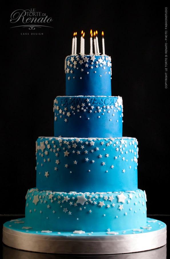 birthday cake stars