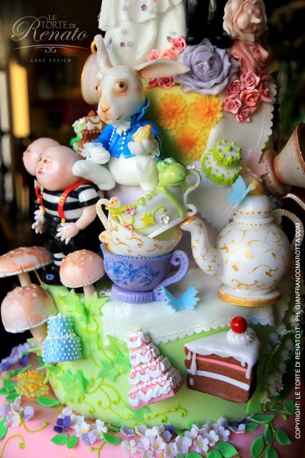 dettagli della torta
