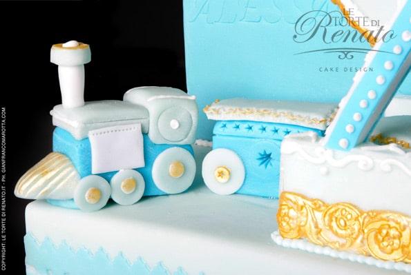 carousel cake design - il trenino